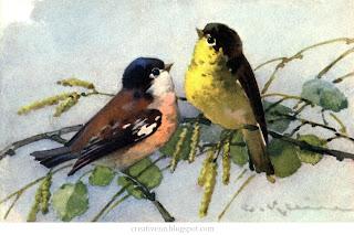 Catherine Klein. Птицы.
