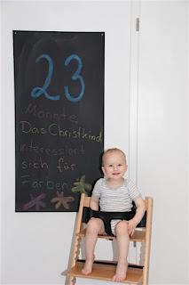 Tafelbild 23 Monate Christkind