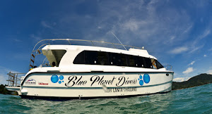 Blue Planet Small catamaran