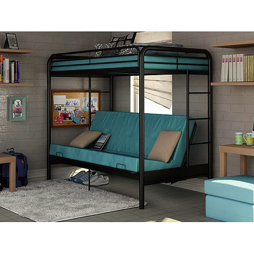 Walmart Twin Over Futon Bunk Bed 500 x 500
