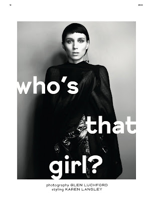 Rooney Mara by Glen Luchford for Dazed & Confused-4