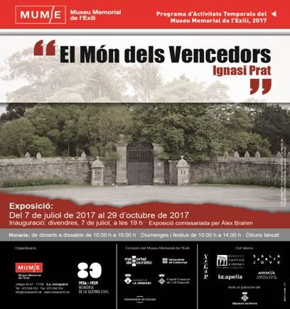 Exposició 'El Món dels Vencedors', d'Ignasi Prat, al Museu Memorial de l'Exili de la Jonquera