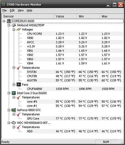 cpuid hardware monitor mac