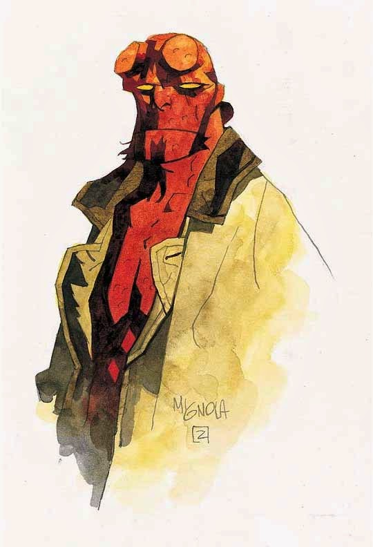 Mike MIgnola - Hellboy