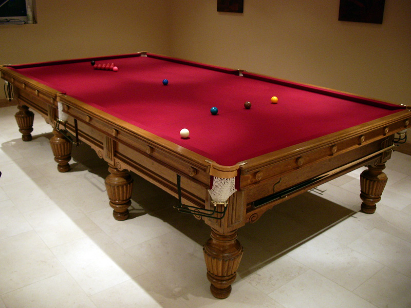 Pool and snooker tips and tricks for 1 4 size snooker table