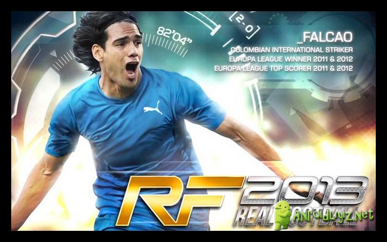 Скачать бесплатно игру для iPhone Реальный Футбол 2013 (Real Football 2013)