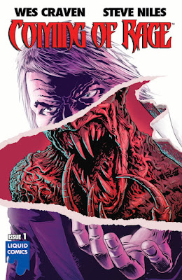 Cover of Wes Craven's Coming of Rage #1, courtesy of Liquid Comics