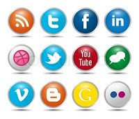 beautifl social networking buttons