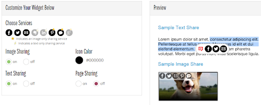 Add Social Share Buttons Share Buttons On Image Hover In Blogger