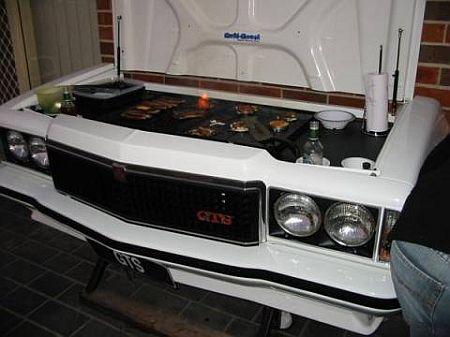 decorating ideas Holden Monaro GTS Transformado em um Grill