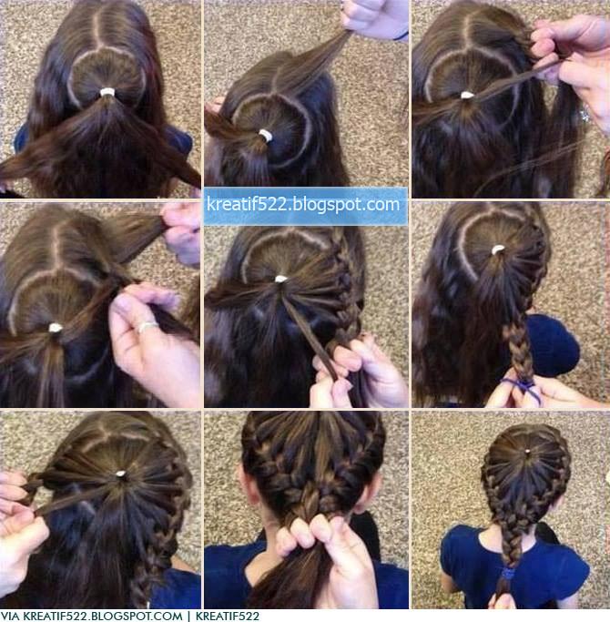 Прически своими руками пошагово для девочек на средние волосы фото