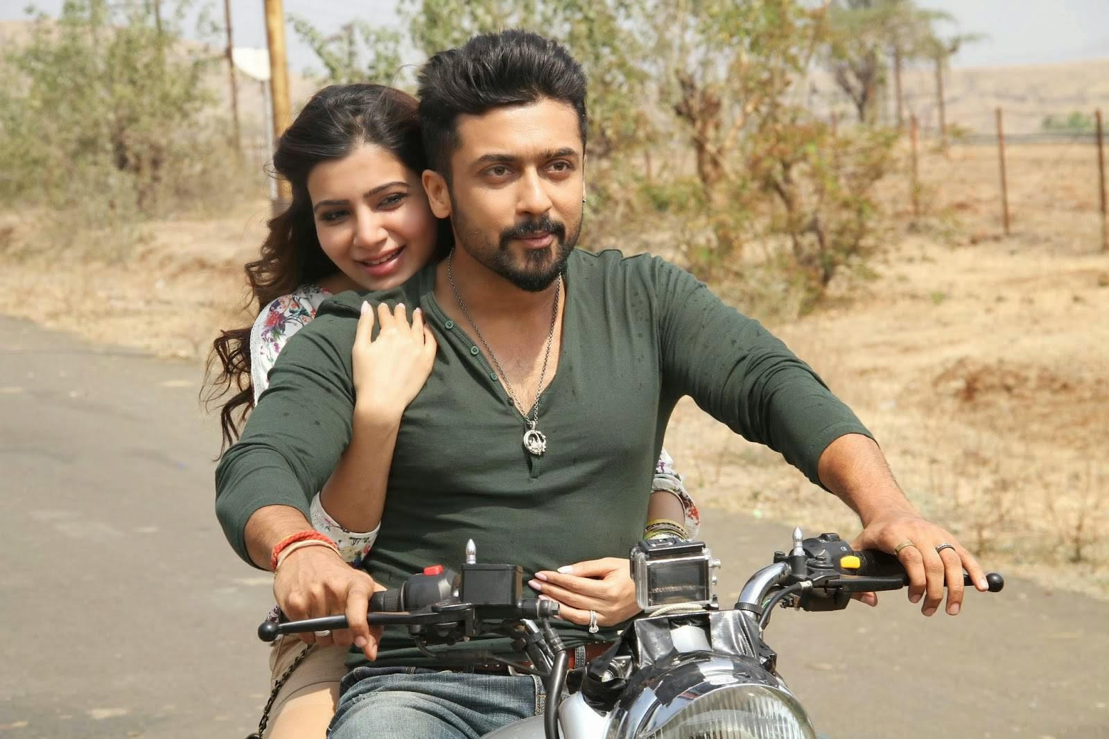Surya and Samantha Anjaan movie hot Stills