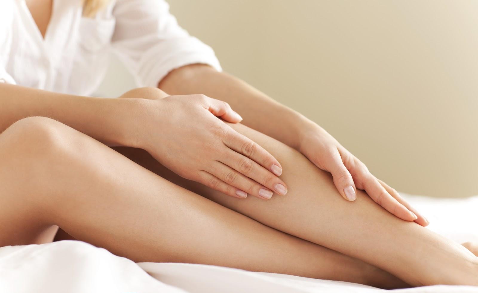 benen scheren zonder scheermes