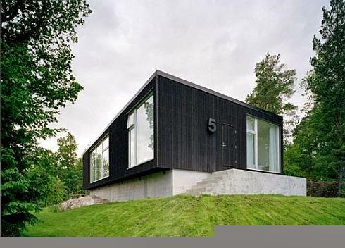 Fachadas de casas minimalistas casa moderna y minimalista for Casa minimalista rectangular