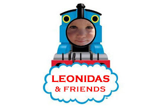 Thomas and Friends train party invite