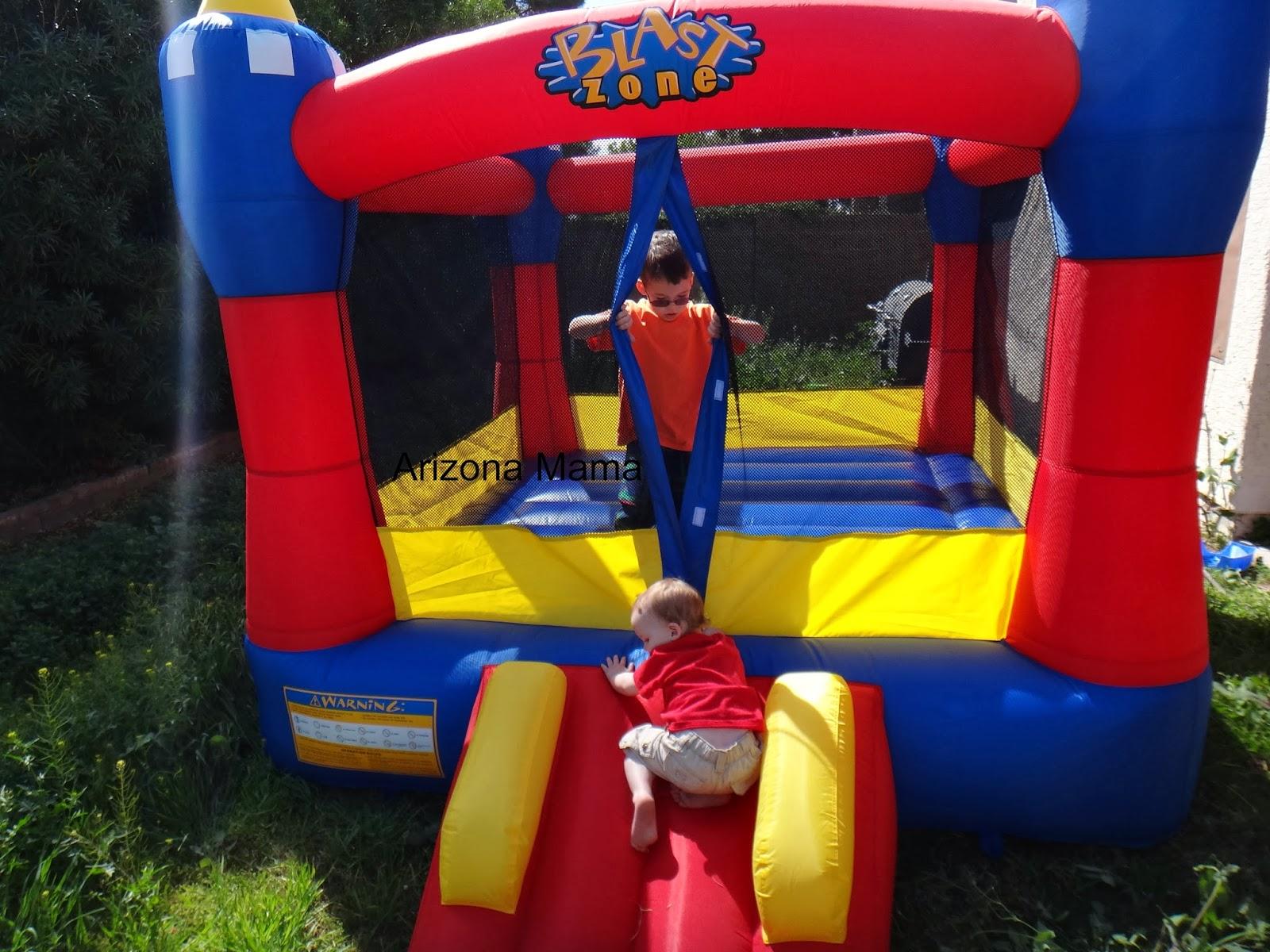 Arizona mama magic castle bounce house from blast zone for Blast zone magic castle inflatable bounce house
