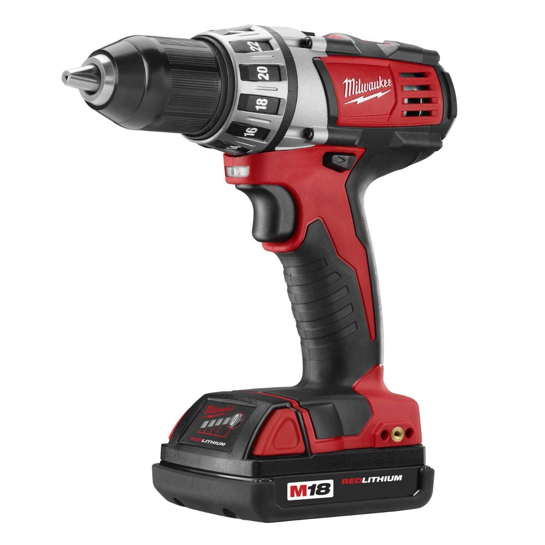 18vdrillreviews Milwaukee 2691 22 18 Volt Compact Drill
