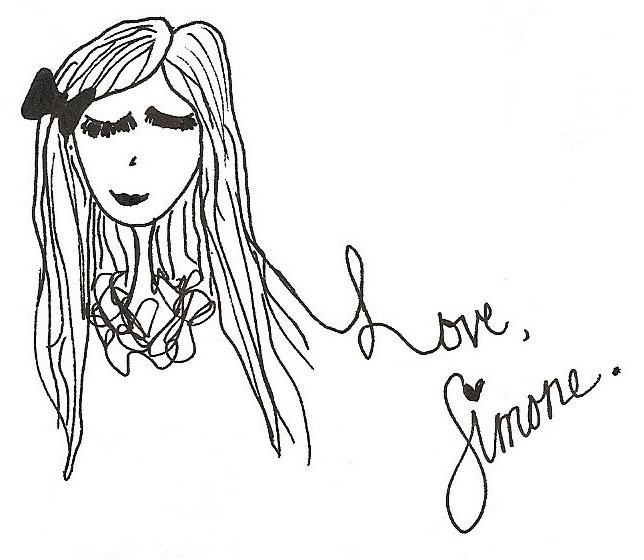 Love, Simone.