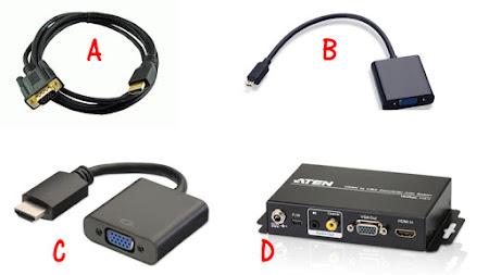 cara menghubungkan receiver parabola dengan monitor komputer