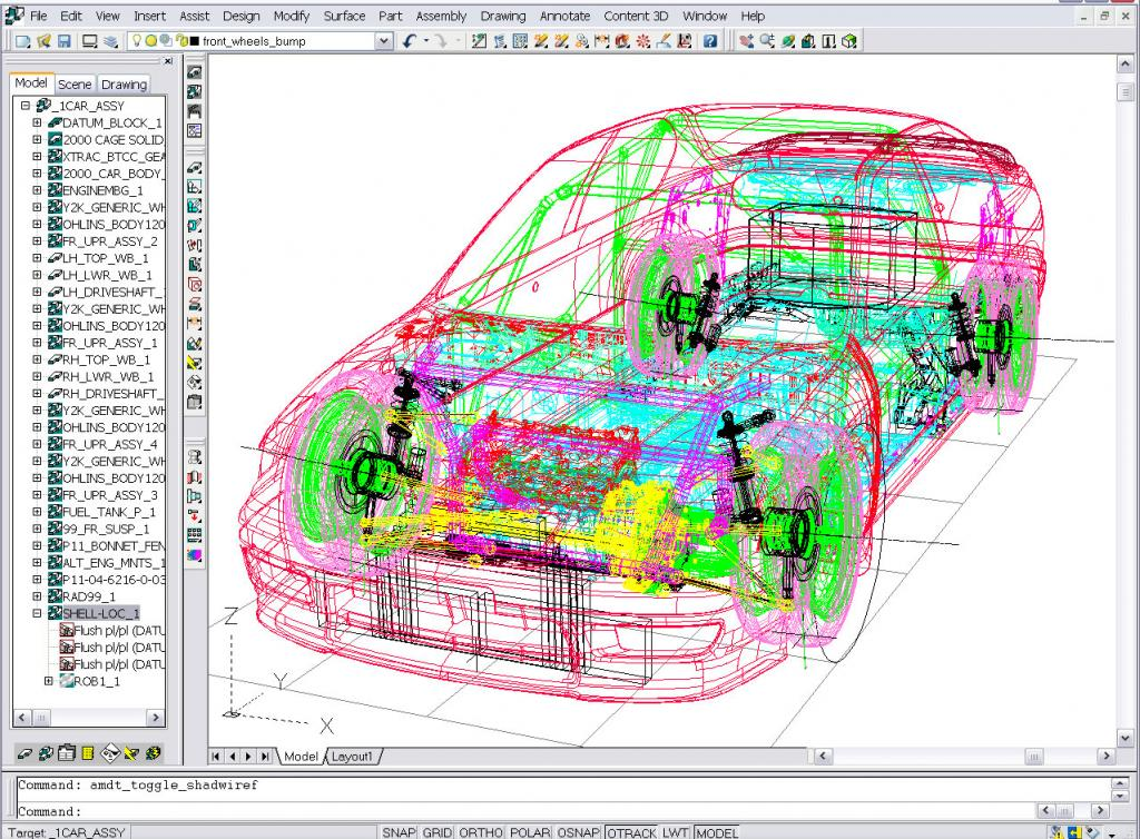 CAD Car Design