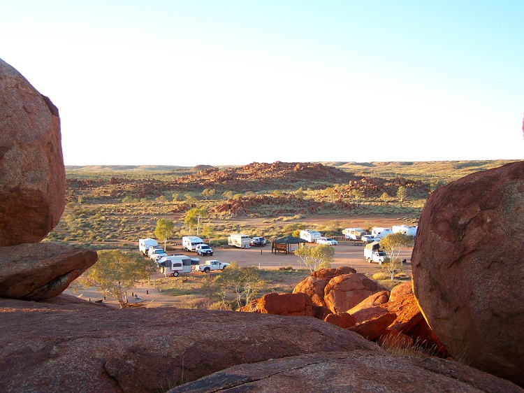 Devils Marbles Campground, Northern Territory