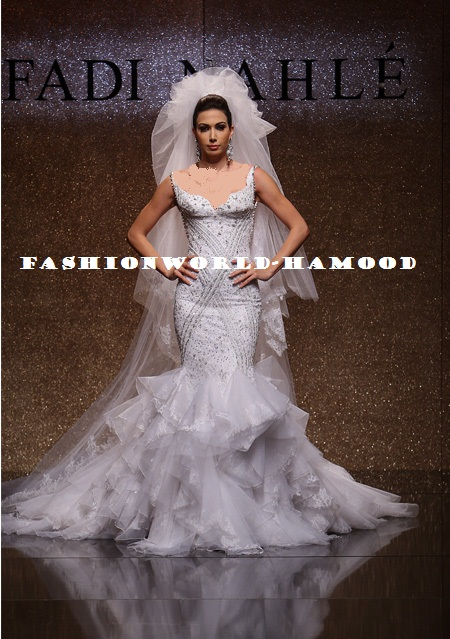 Fadi Nahle Bridal Gown 2011