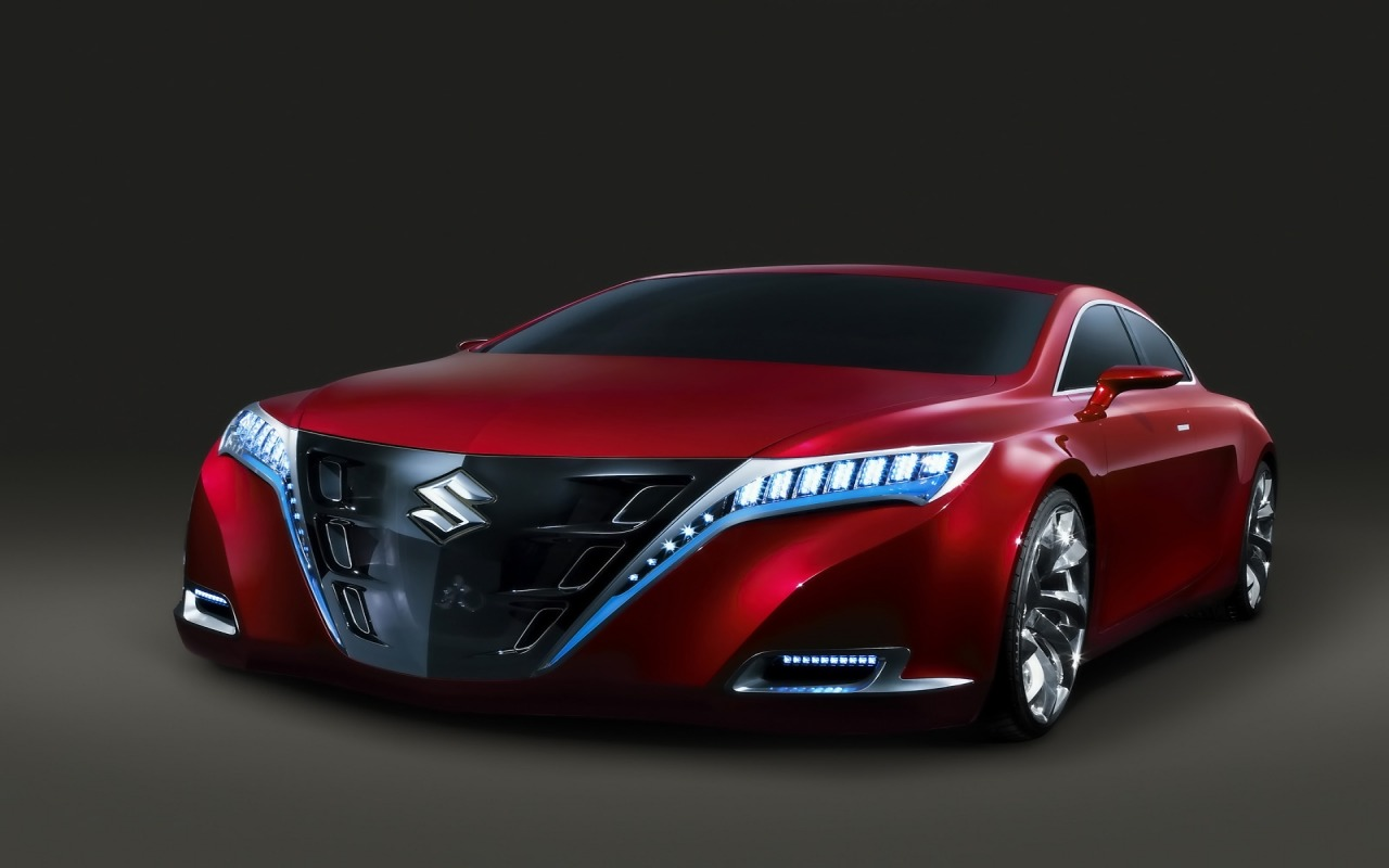 Red Suzuki Kizashi