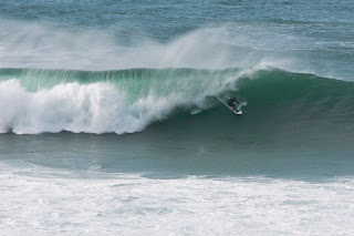 big barrel surfing in the UK