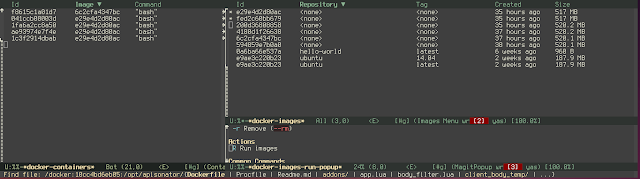 Managing dockers (and some emacs help)