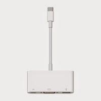 Adattatore multiporta da USB-C a VGA per MacBook