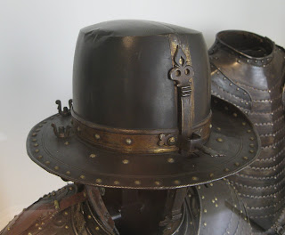 Interesting armoured hat at Hotel des Invalides
