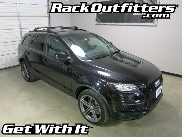 Nice The Thule AeroBlade Edge Multi Purpose Base Roof Rack Is A Perfect Fit For  The 2007, 2008, 2009, 2010, 2011, 2012, 2013, 2014 And 2015* Audi Q7 With  Flush ...