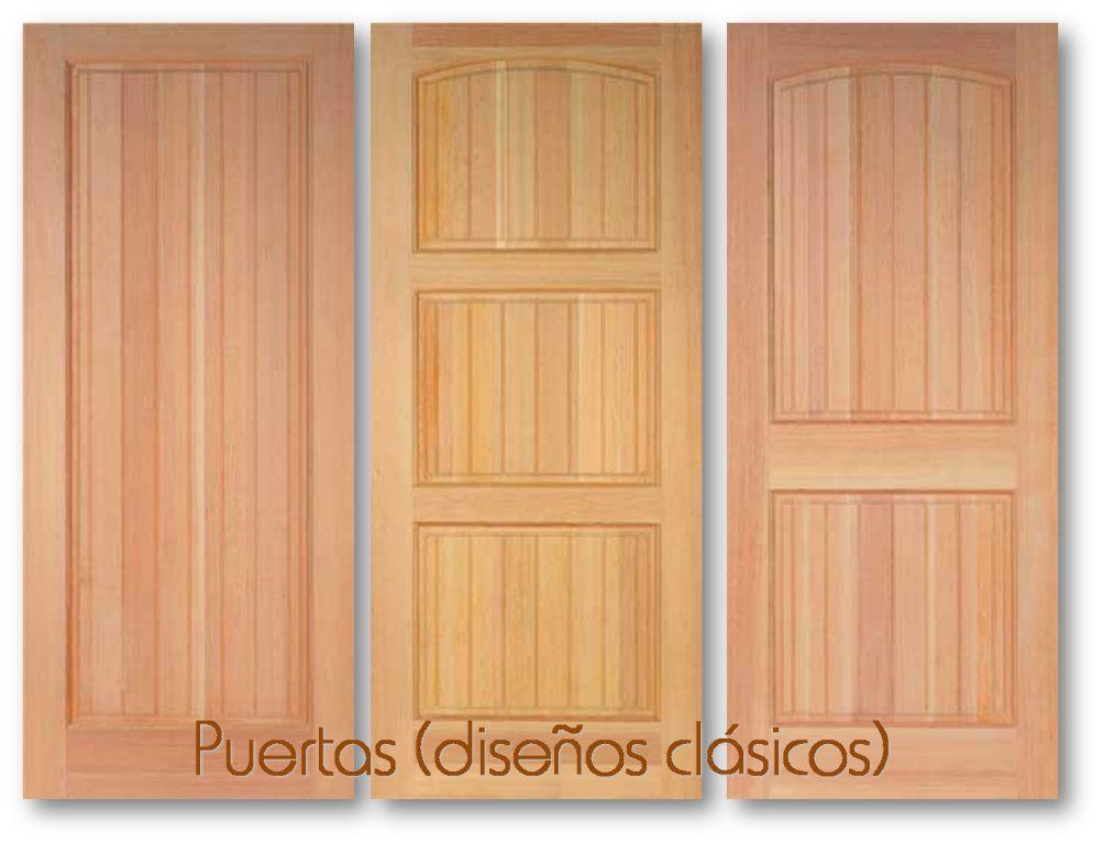Baren comercial puertas for Diseno de puertas de madera antiguas