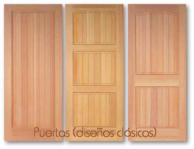 Baren comercial for Ver disenos de puertas de madera