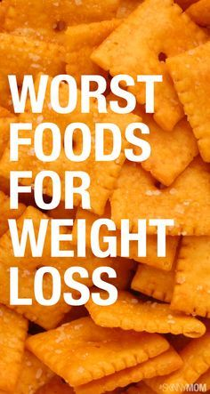 12 Foods to Avoid When You're Trying to Lose Weight