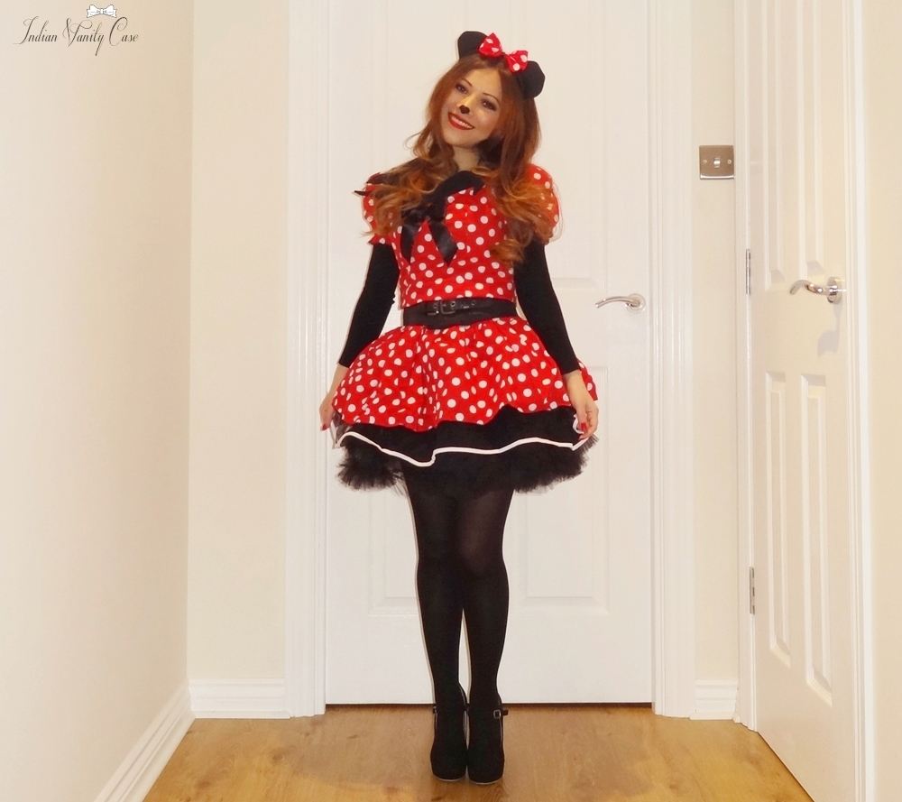 Indian Vanity Case: Outfit, LOTD ~ When I Was Minnie Mouse.....