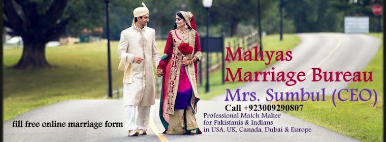Muslim matchmaking canada