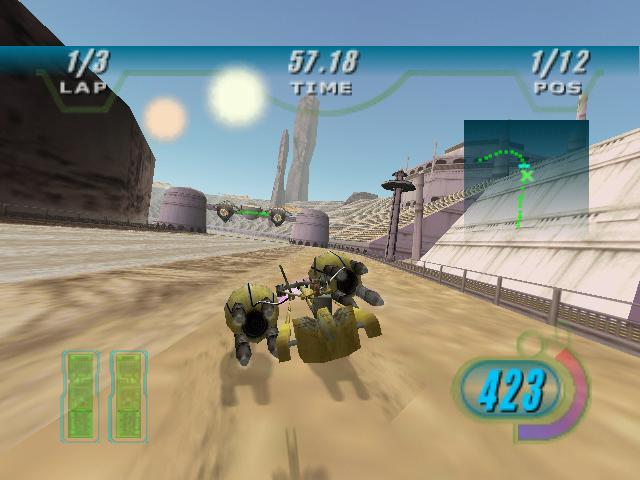 Star Wars Episode 1 Racer PC Games Gameplay