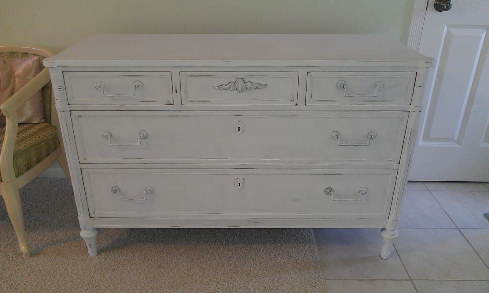 Thrifty Treasures White Shabby Chic Dresser. Shabby Chic Dresser White   BestDressers 2017