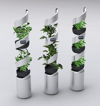15 creative planters and modern flowerpot designs part 6 for Indoor gardening gadgets
