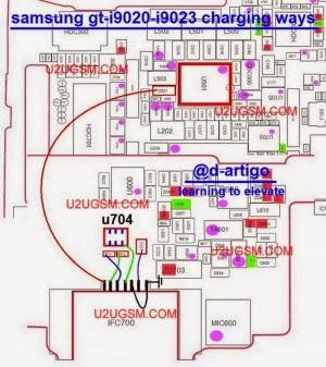 Samsung Google Nexus S i9020 Usb Charging