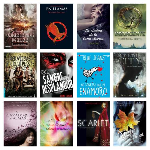 12 libros para adolescentes ideales para leer en