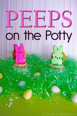 Peeps on the Potty Easter Snack