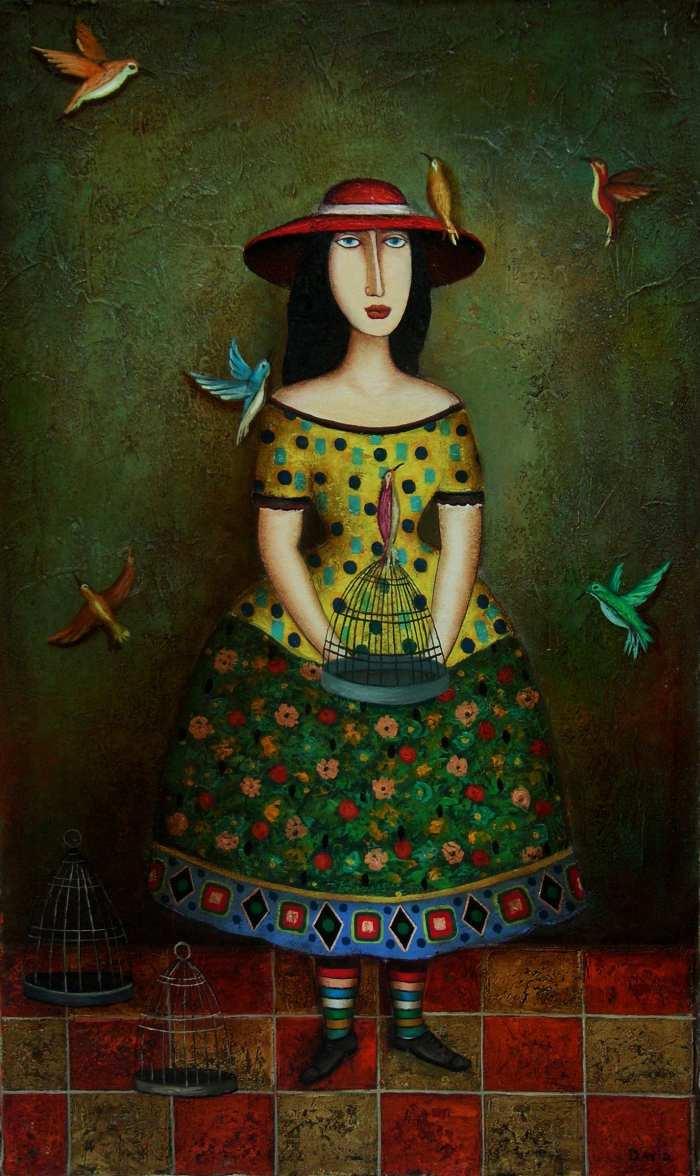 Давид мартиашвили создал свой стиль в живописи