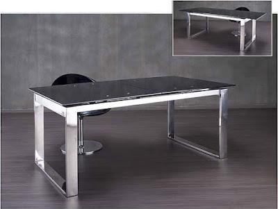 Cristal y acero para tu despacho - Mesas de despacho de cristal ...