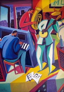 Noche de blues - Guillermo Marti Ceballos