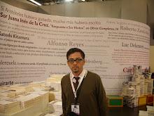 Paúl Puma en la Feria Internacional del Libro de Guadalajara