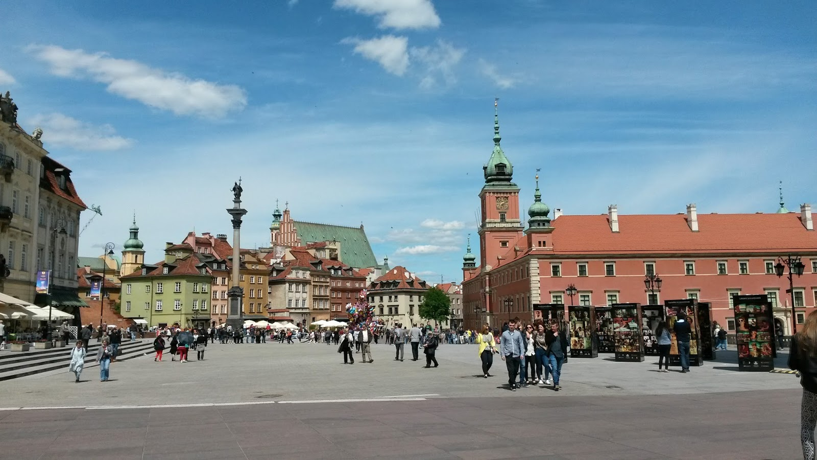 Plac Zamkowy Castle Square Kolumna Zygmunta Sigismunds Column