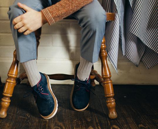 大人っぽくておしゃれなレトロデザインの子供靴