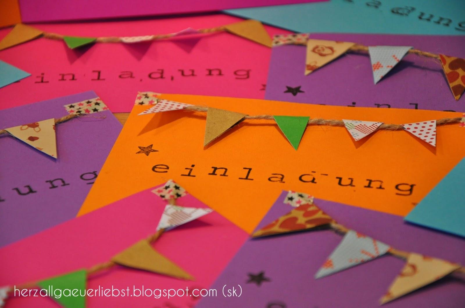 Einladungskarten Selbst Gestalten So Einfach Geht S: Herzallgäuerliebst: Einladungskarten